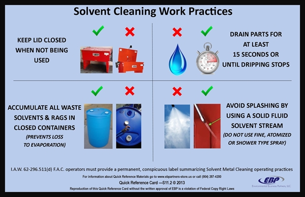 Picture of Solvent Tank Work Practices