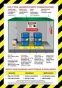 Picture of Hazardous Waste Accumulation Area Sign